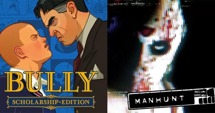 Polmicos jogos da Rockstar no PS2 Bully e Manhunt chegam
