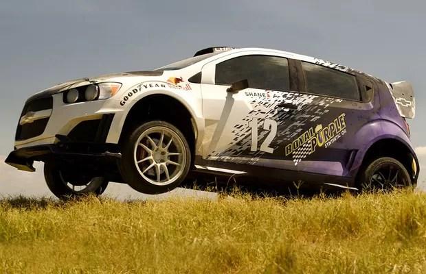 Chevrolet Sonic RS Rally (Foto: Divulgação)