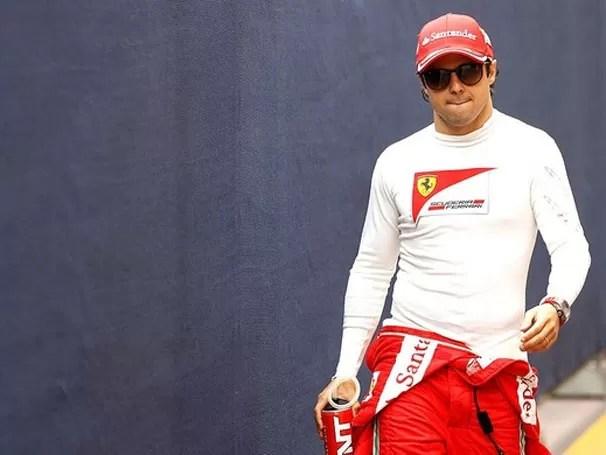 Massa quer continuar na Ferrari em 2013 (Foto: Divulgação/Reprodução)