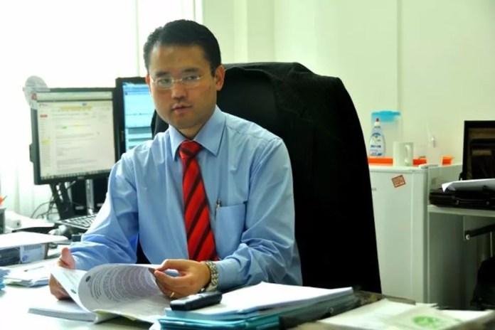 O promotor de Justiça Gláucio Ney Shiroma Oshiro diz que está acompanhando casos  (Foto: Divulgação/Asscom MP-AC)