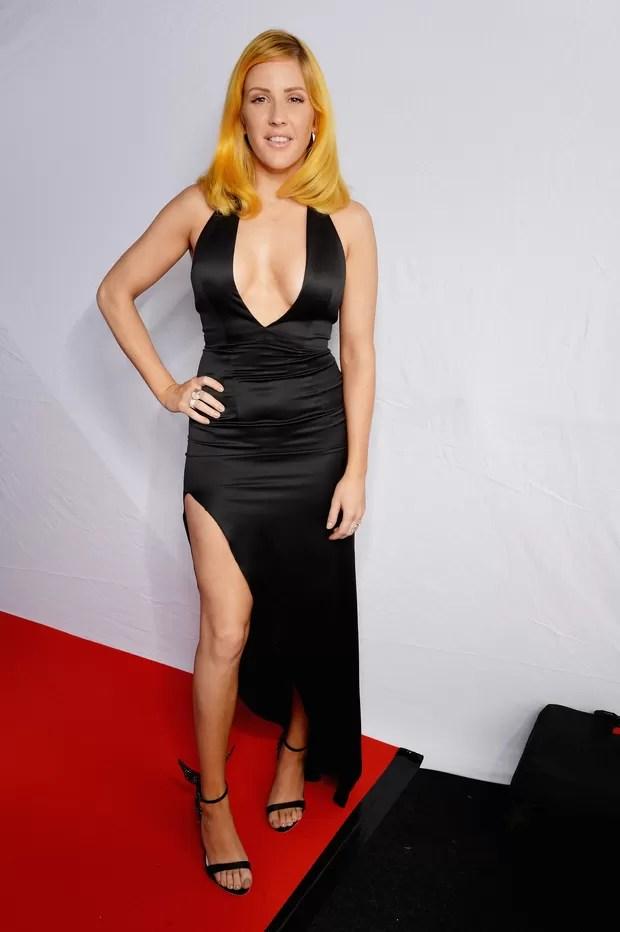 Ellie Goulding no MTV EMA 2015 (Foto: Getty Images)