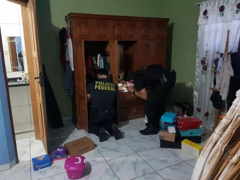 Em operação deflagrada nesta quarta-feira (13), PF cumpriu 18 mandados judiciais em Cruzeiro do Sul e em Morrinhos (GO) — Foto: Arquivo/PF