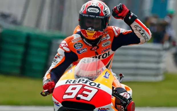 Motovelocidade Marc Marquez GP de Sachsenring (Foto: Agência Reuters)