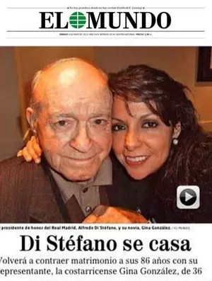 El Mundo Di Stefano se casa (Foto: Reprodução)