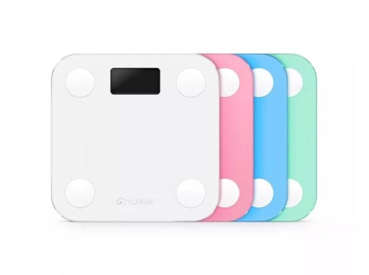 Yunmai Mini está disponível em quatro cores suaves — Foto: Divulgação/Yunmai