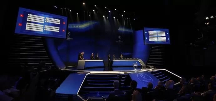 Sorteio Liga dos Campeões da Uefa (Foto: Getty Images)