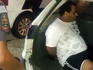 Homem que atropelou e matou companheira em Jundiaí foi preso na madrugada desta quarta-feira (Foto: Divulgação/PM de Jundiaí)