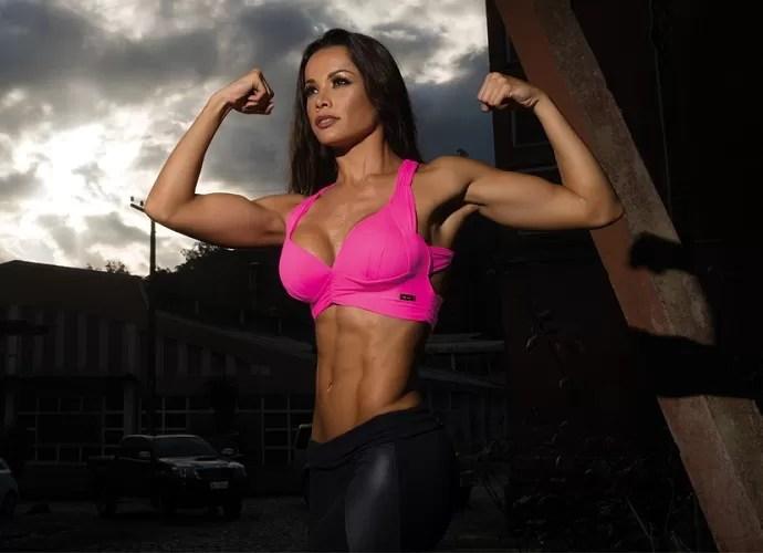 Fernanda D'avila arrasando em ensaio fitness (Foto: Ricardo Ranguetti/MF Models)