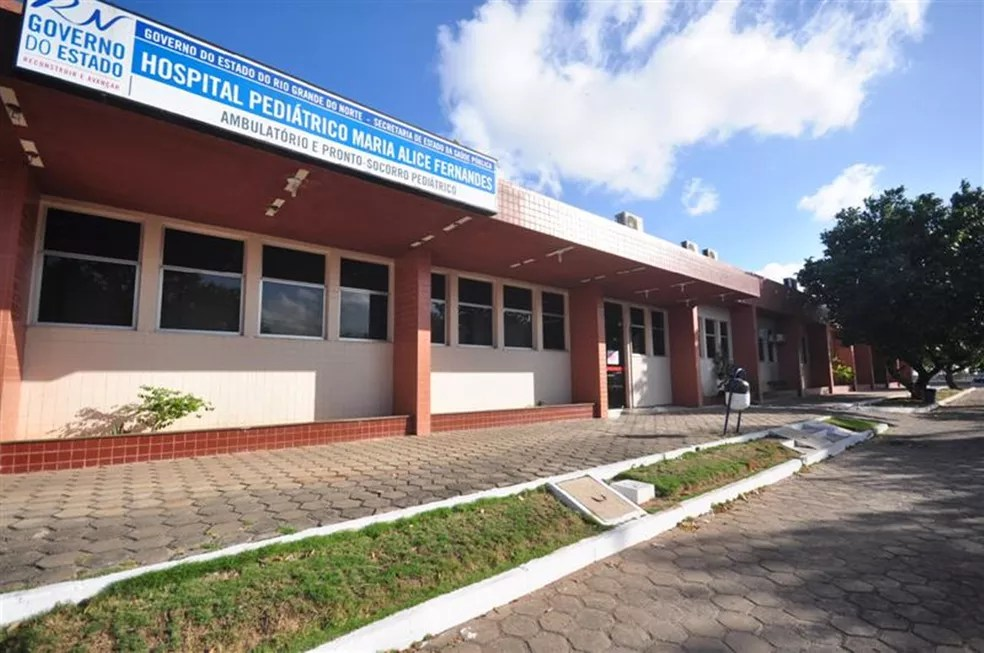 Hospital Maria Alice Fernandes — Foto: Tribuna do Norte