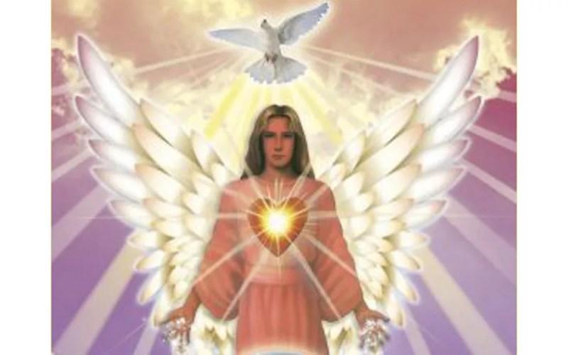 Imagem mostra uma das representações do anjo Camael — Foto: Reprodução/Redes sociais