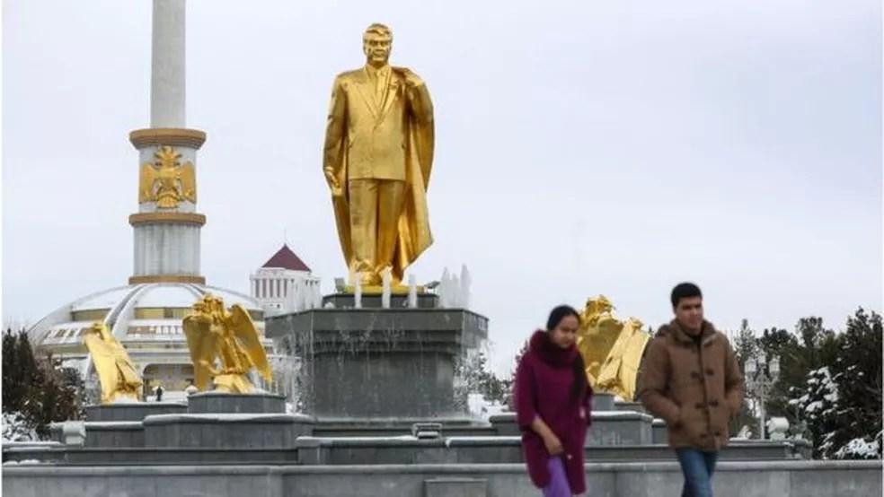 O governo do Turcomenistão baniu a palavra coronavírus — Foto: Getty Images/BBC