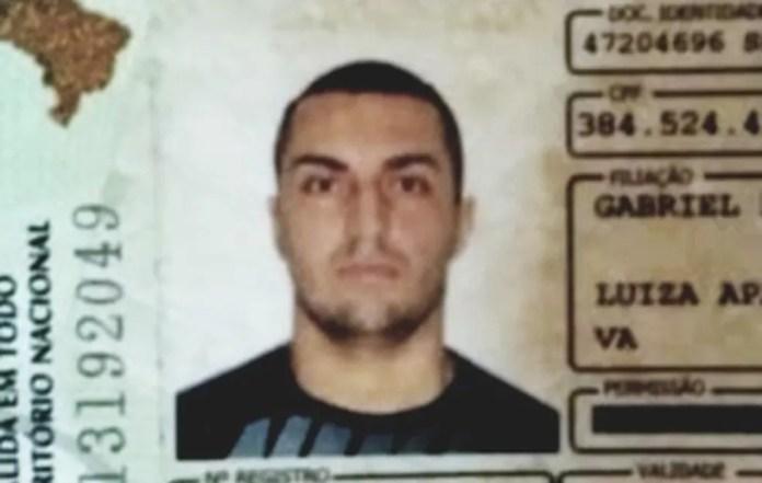 Segundo a polícia, segurança Michel Flor da Silva confessou ter matado Rayane Paulino Alves, de 16 anos — Foto: Reprodução
