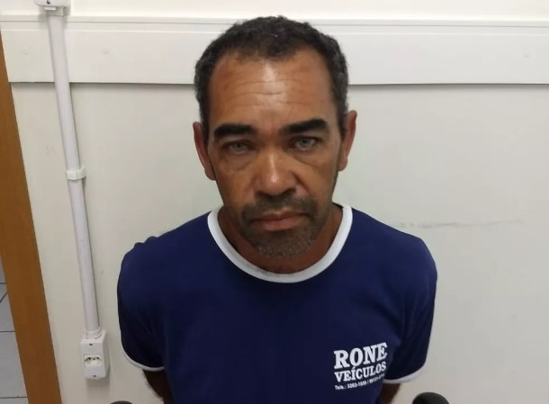 Preso ex-militar suspeito de assassinar a ex-mulher a facadas em Petrolina — Foto: Divulgação/Polícia Civil