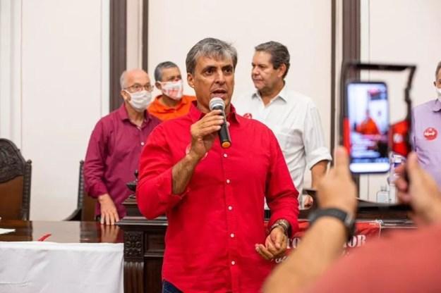 Mário Marroquim disse que proposta oferecida ao atacante foi alta — Foto: Rayssa Tenório/Agência Lubi