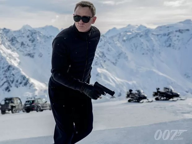 Daniel Craig como James Bond na primeira imagem de divulgação do filme 'Spectre' (Foto: Divulgação)