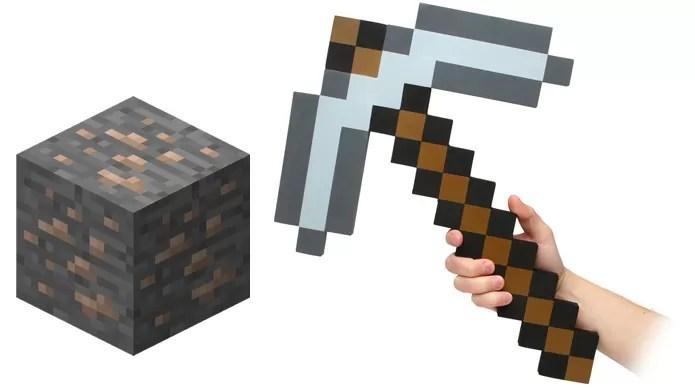 Aprenda a minerar todos os tipos de blocos em Minecraft (Foto: thinkgeek.com e minecraftuniverse.wikia.com)