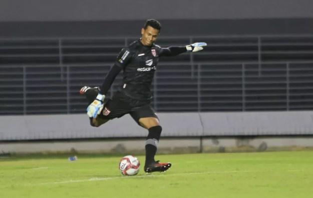 Diogo Silva destaca semana cheia na preparação para o clássico decisivo — Foto: Ailton Cruz/Gazeta de Alagoas
