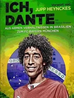 Zagueiro Dante lança autobiografia (Foto: Reprodução )