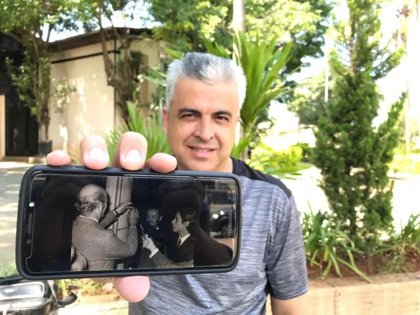 Cesar Silva é historiador em Votorantim — Foto: Carlos Dias/G1