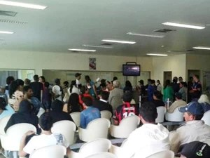 Atendimento no Hospital de Trauma de Campina Grande (Foto: Divulgação/Trauma-CG)
