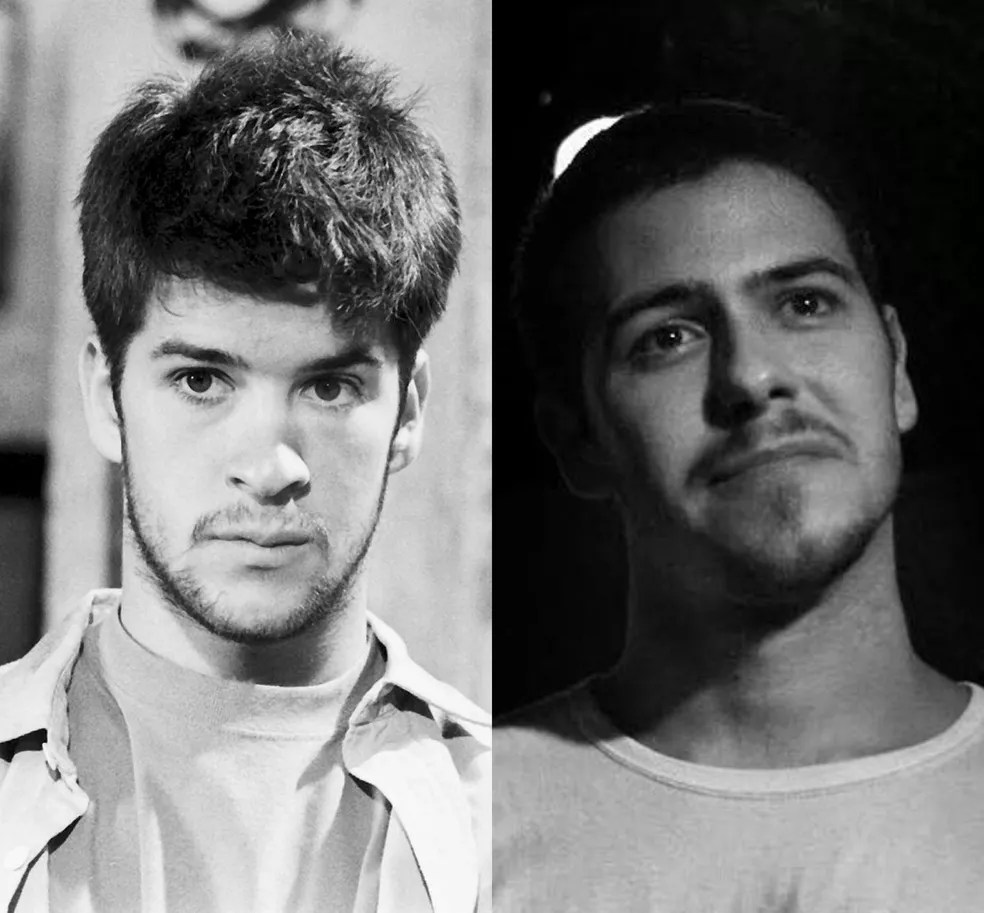 Murilo Benício e o filho Antônio Negrini, aos 22 anos — Foto: TV Globo / Reprodução / Redes Sociais