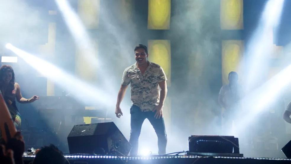 Wesley Safadão é atração do Sousa Folia 2018, deste domingo (20) (Foto: Dani Fechine/G1)