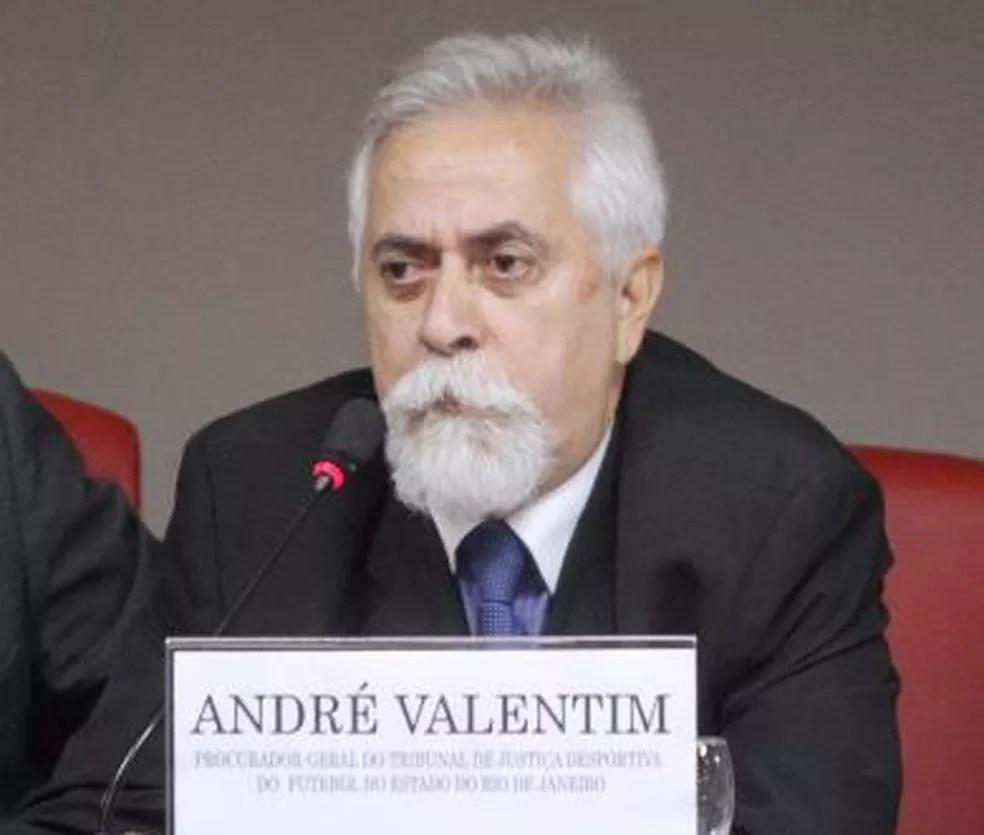 André Valentim, procurador do TJD-RJ, autor da denúncia — Foto: Divulgação