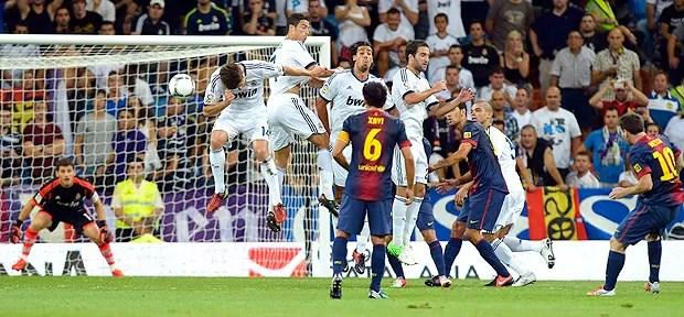 Messi, Real Madrid x Barcelona (Foto: Agência Reuters)