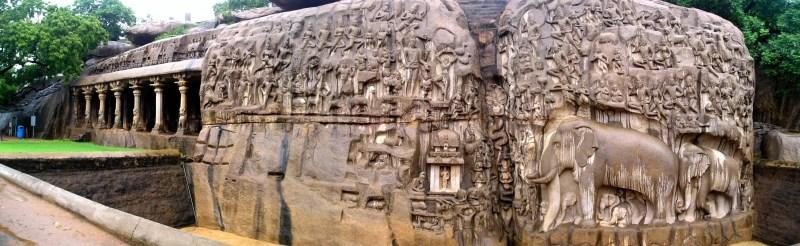 Esculturas foram alguns dos artefatos que emergiram após o tsunami de 2004 (FOTO: WIKIMEDIA/SSRIRAM MT )
