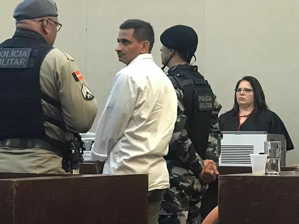 Júri popular de Edvaldo Soares da Silva, acusado da morte de Rebeca Cristina, acontece nesta quinta-feira, 28 de fevereiro — Foto: Joana Rosa/TV Cabo Branco