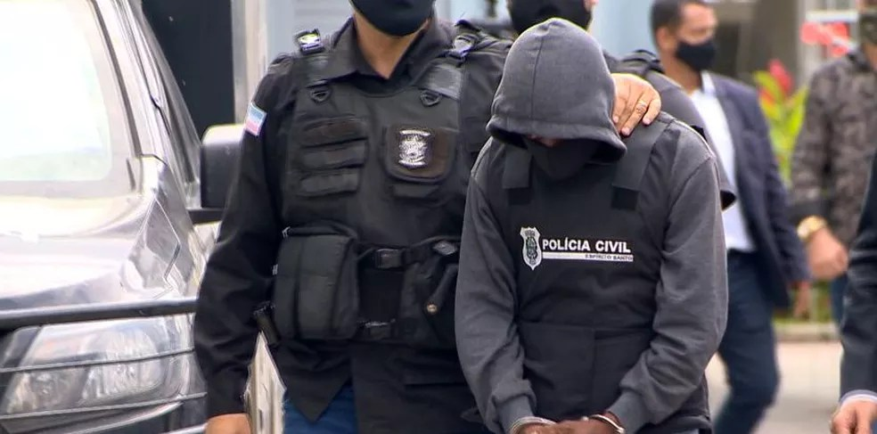 Tio suspeito de estuprar sobrinha em São Mateus — Foto: Ari Melo/TV Gazeta