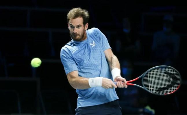 Murray no ATP 250 de Metz, na França — Foto: John Berry / Getty Images