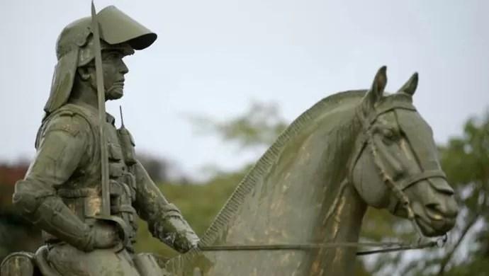 Sergipano ganhou monumento em Brasília (Foto: Reprodução/Arquivo de família)