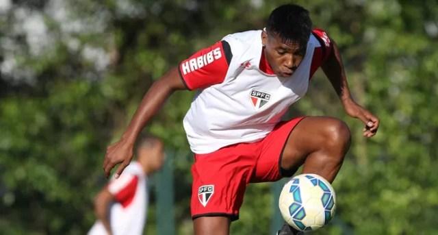 Wilder Guisao São Paulo (Foto: Rubens Chiri / saopaulofc.net)