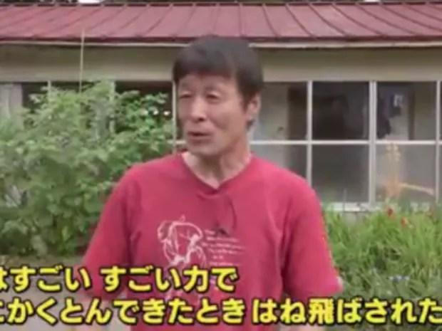 Japonês usou golpes de caratê para afugentar urso após ataque (Foto: Reprodução)