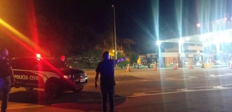 A abordagem do jovem foi feita em um ônibus, na BR-040 — Foto: Polícia Civil/Divulgação