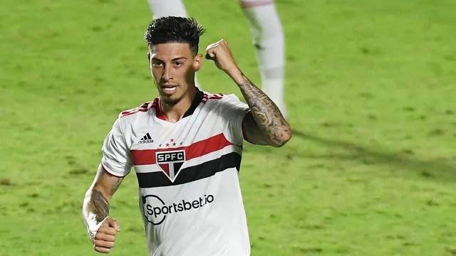 Gol Rigoni Vasco x São Paulo