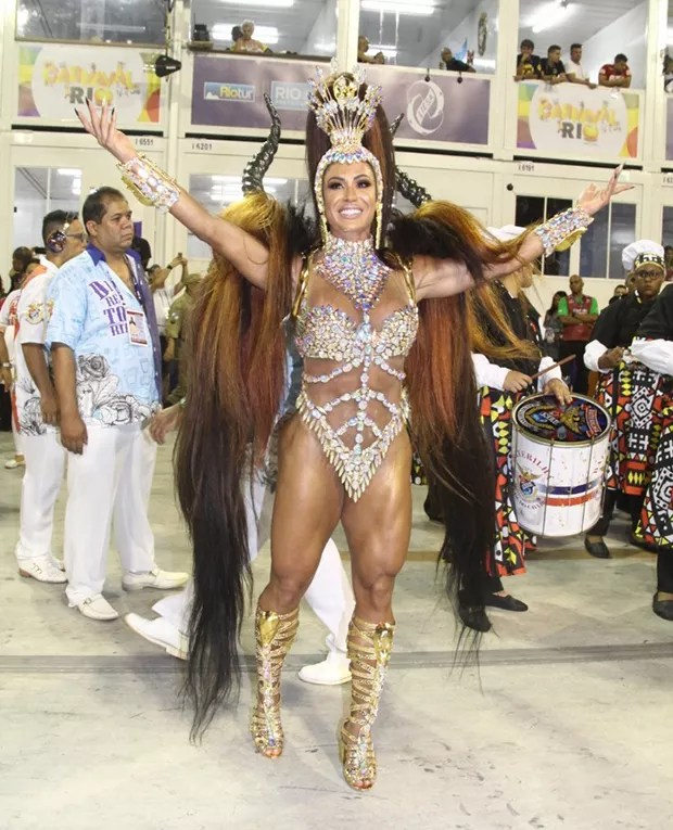 Gracyanne Barbosa (Foto: Roberto Valverde/ QUEM)