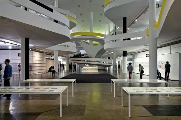 Expografia da 30ª Bienal de Arte de São Paulo, 2012, Metro Arquitetos (Foto: Leonardo Finotti)