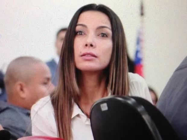Marcelaine teria encomendado morte de rival por ciúmes do amante (Foto: Jamile Alves/G1 AM)
