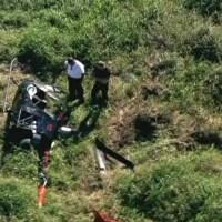 """Globo Notícia"" hoje (09/05/2013): 'Helicóptero sofre acidente na Zona Leste de SP'"