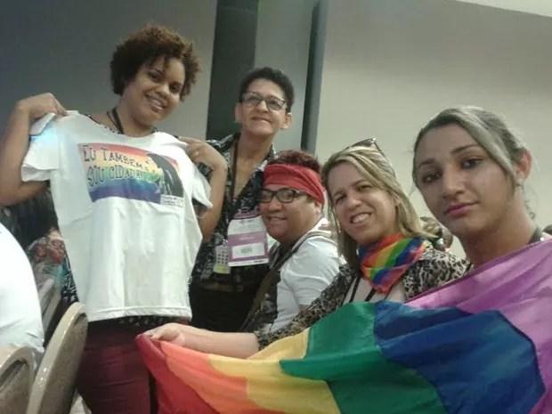 Grupo Maria Quitéria combate a lesbofobia na Paraíba desde 2009 (Foto: Ângela Chaves/Arquivo Pessoal)