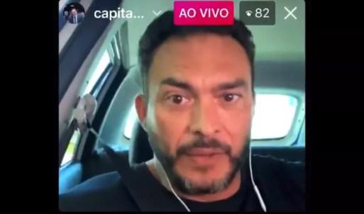 Senador pelo Rio Grande do Norte, Styvenson Valentim, em vídeo nas redes sociais — Foto: Reprodução
