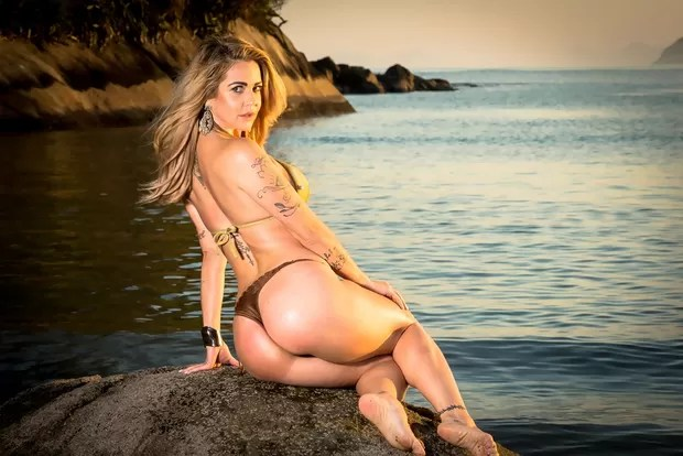 Novo ensaio sensual de participantes Miss Bumbum - Ana Paula Saad - São Paulo (Foto: Nelson Miranda / MBB6)