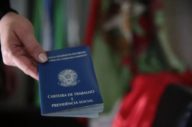 Trabalhos sem carteira assinada atingiram recorde — Foto: Mauricio Vieira/Secom/Divulgação