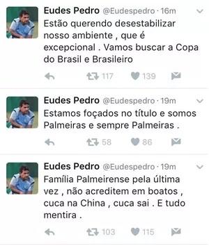 Eudes Pedro Palmeiras (Foto: Reprodução/Twitter)