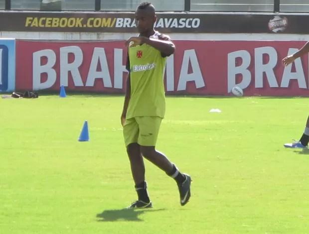 Yago treino Vasco (Foto: Gustavo Rotstein)