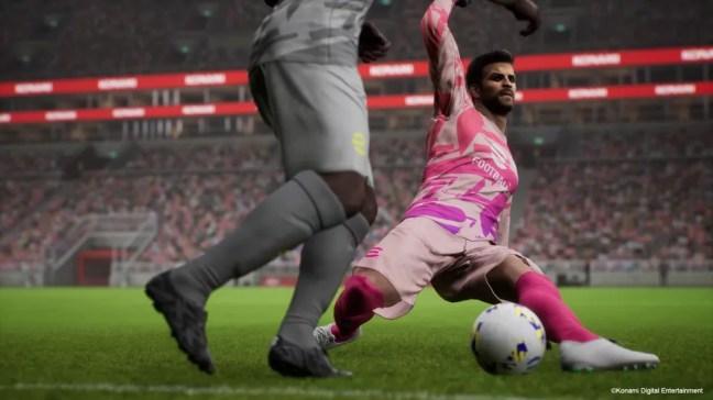 Pique no eFootball — Foto: Konami