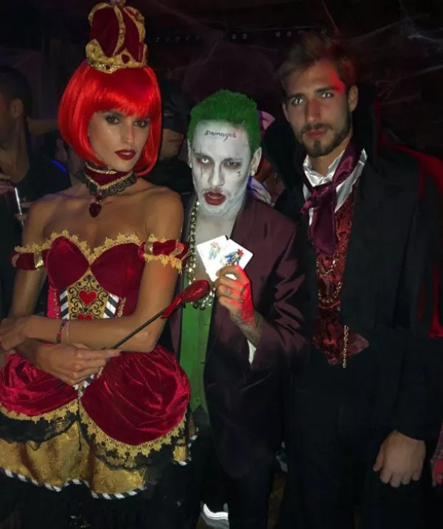 Izabel Goulart, Neymar e Kevin Trapp (Foto: Reprodução/Instagram)