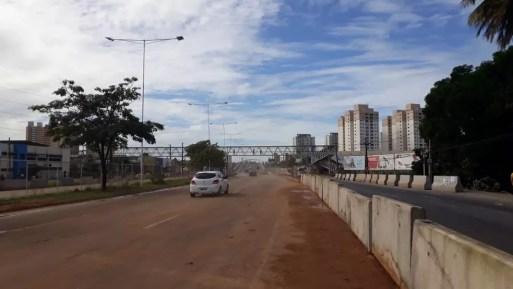 Pista principal do viaduto foi liberada na tarde deste sábado (16) (Foto: Dnit/Divulgação )